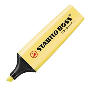 Stabilo Boss Pastel Milky Yellow