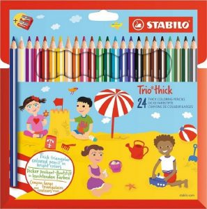Stabilo Trio Colored 24pcs