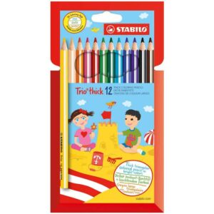 Stabilo Trio Thick Colors Pencil 12