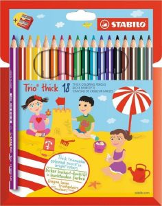 Stabilo Trio Coloring Pencils 18