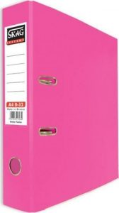 Skag Box File A4 8-32 Pink