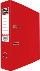 Skag Box File A4 8-32 Red