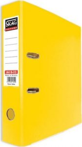 Skag Box File A4 8-32 Yellow
