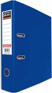 Skag Box File A4 8-32 Dark Blue