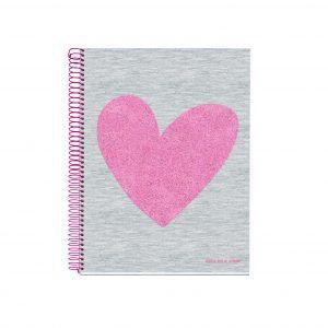 Miquelrius A4 140 Pages Spiral Love