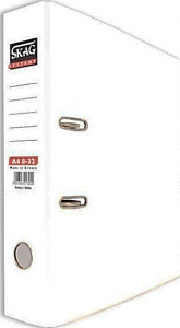 Skag Box File A4 8-32 White