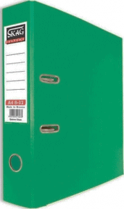 Skag Box File A4 8-32 Green