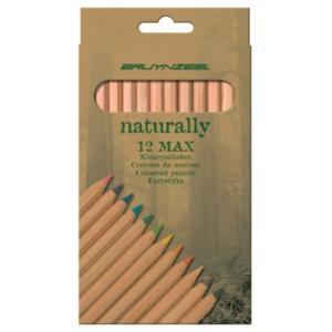 Bryunzeel Coloured Pencils Naturally Max 12 pcs