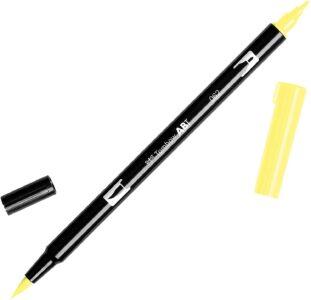 Tombow Dual Brush Pen ABT 062 Pale Yellow