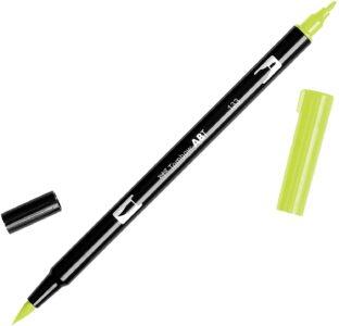 Tombow Dual Brush Pen ABT 133 Chartreuse