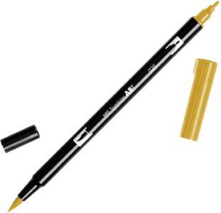 Tombow Dual Brush Pen ABT 026 Yellow Gold