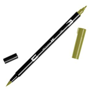 Tombow Dual Brush Pen ABT 098 Avocado