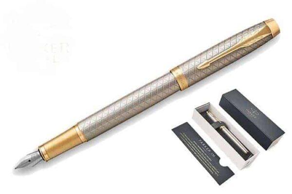 Parker I.M. PRM Warm Grey GT Pen FPen M