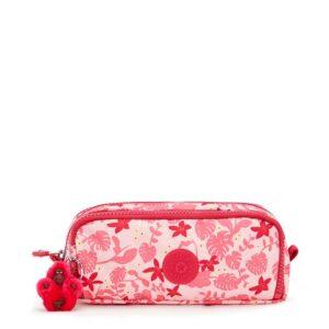 Kipling Gitroy Pink Leaves