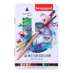 Bruynzeel Water Colour Pencils set 12